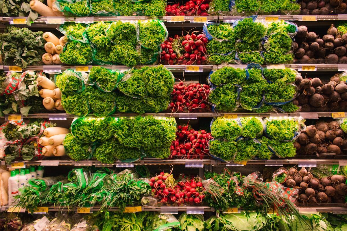 Bail pour fruits et légumes